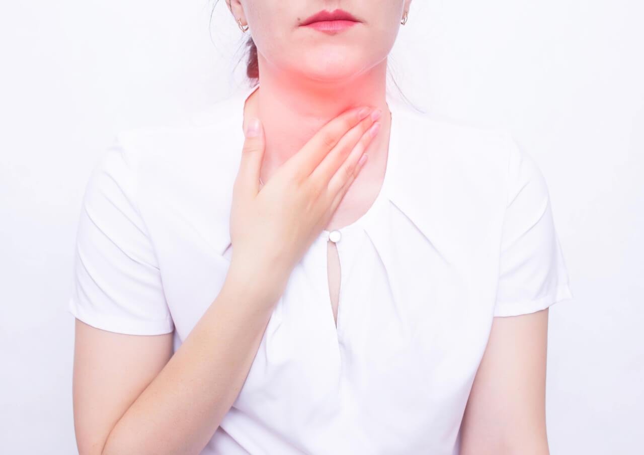 oropharyngeal lymph tissue