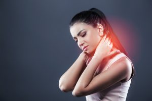 neck pain after dental work