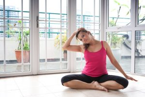 neck stretch exercises at home