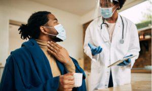 contagious or non-contagious pharyngitis
